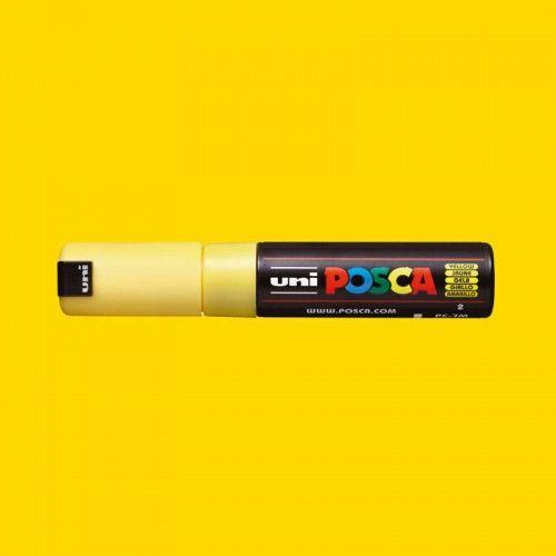 Marcador Posca 7M amarillo