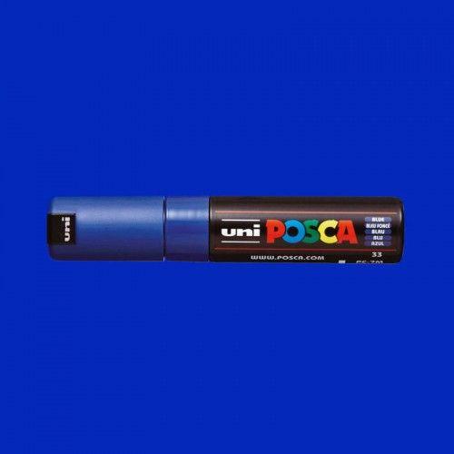 Marcador Posca 7M azul