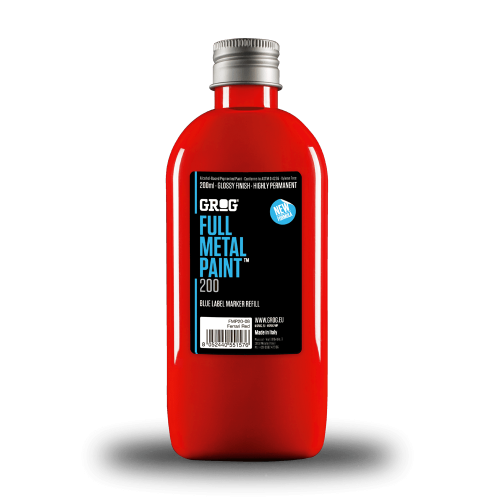 GROG Full Metal Paint Ferrari Red 200 ml