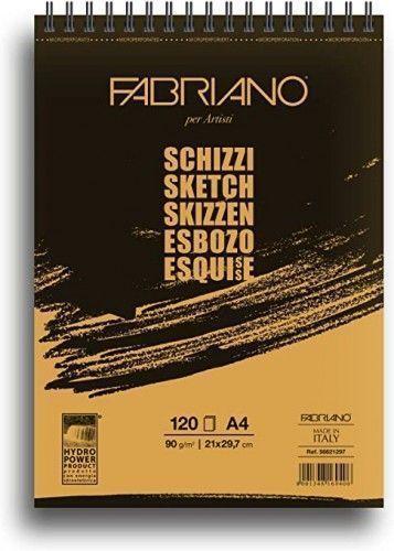 Block Fabriano Schizzi A4 espiral