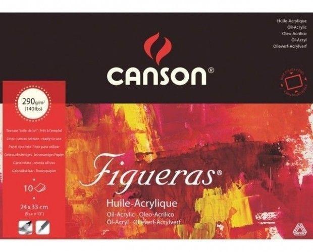 Block Canson Figueras 24x33cm 290grs