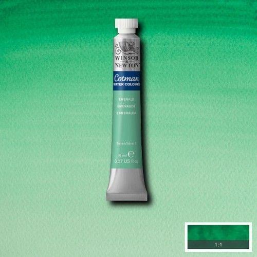 Acuarela Cotman verde esmeralda