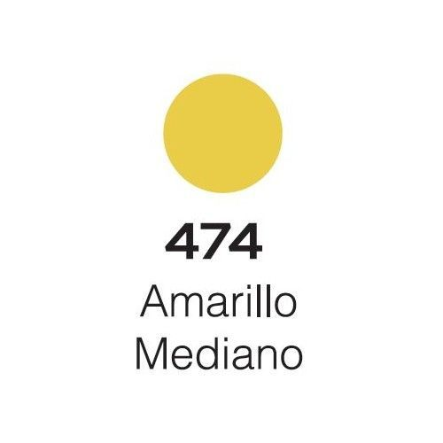 Marcador Alba Acrylic Color M 4mm Amarillo mediano