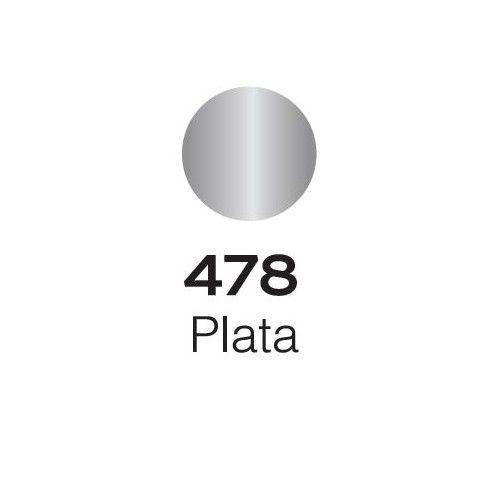 Marcador Alba Acrylic Color M 4mm Plata