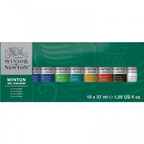 Set oleos Winsor&Newton 10 unidades