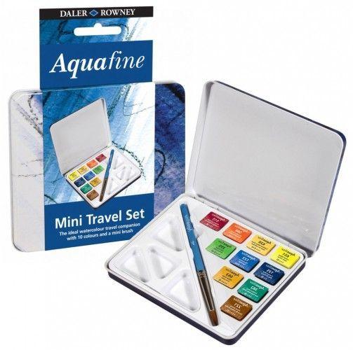 Acuarelas Aquafine Daler Rowney 10 unidades