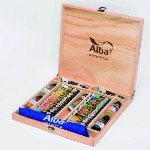 Valija para artistas grande Alba