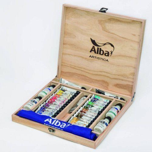 Valija para artistas grande Acrílicos Alba