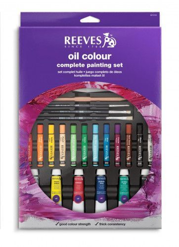 Set Oleos Reeves complete painting