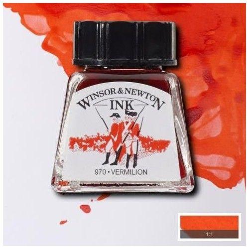 Tinta W&N bermellón