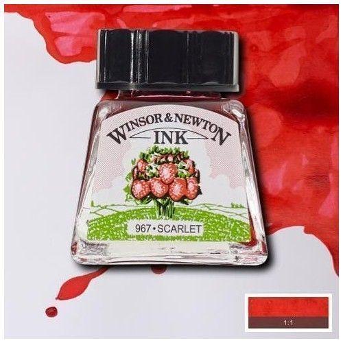 Tinta W&N Escarlata