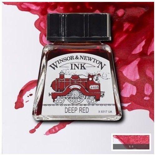 Tinta W&N rojo oscuro