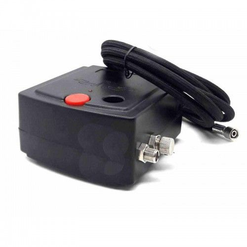 Mini Compresor para aerografos con manguera y regulador