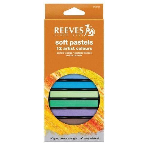 Set Pastel tiza Reeves 12 unidades