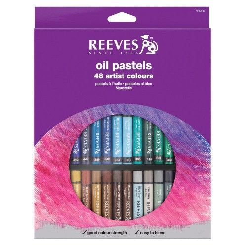 Set Oleo Pastel Reeves 48