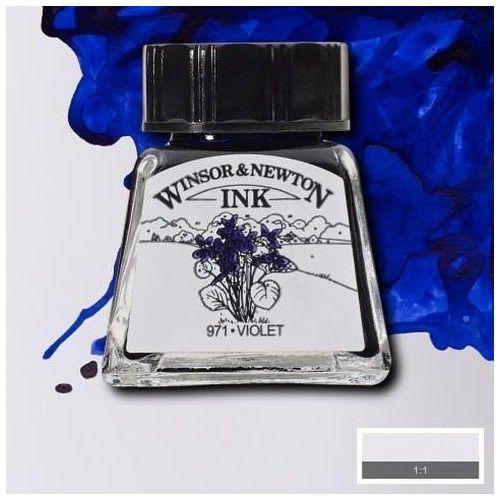 Tinta W&N violeta