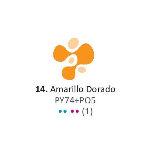 Acrilico Eterna Profesional 200ml Amarillo dorado