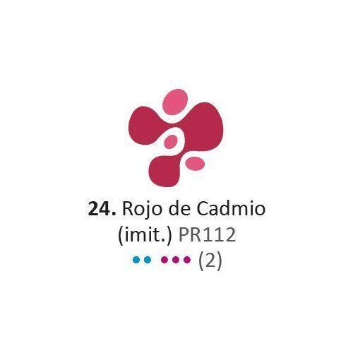 Acrilico Eterna Profesional 200ml rojo de Cadmio (imit)