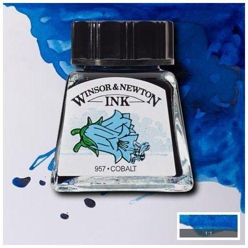 Tinta W&N cobalto