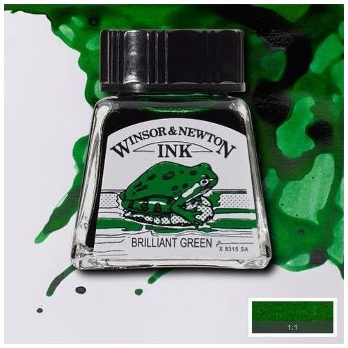 Tinta W&N verde brillante