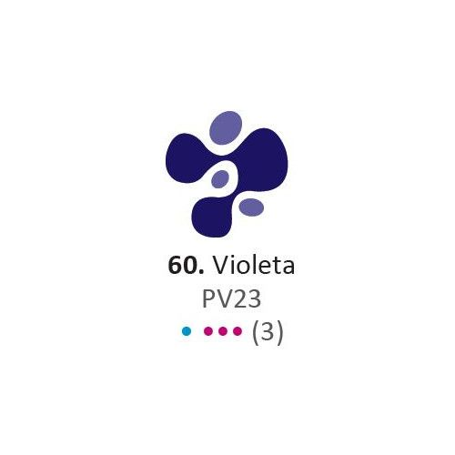 Acrilico Eterna Profesional 200ml Violeta