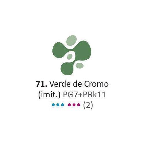 Acrilico Eterna Profesional 200ml Verde de Cromo