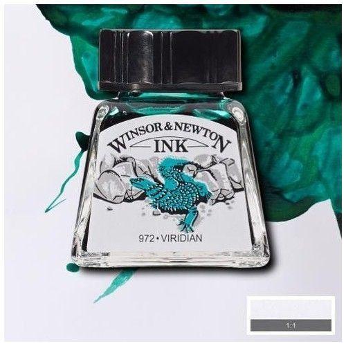 Tinta W&N viridian