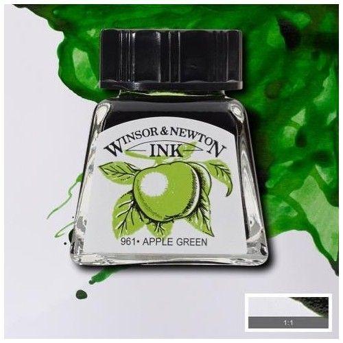 Tinta W&N manzana verde