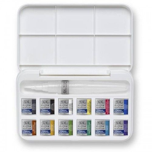 Acuarelas Cotman 12 hp waterbrush
