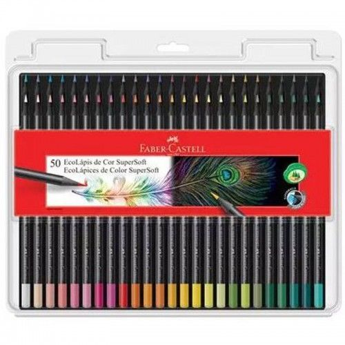 Lapices Supersoft Faber Castell 50 Unidades