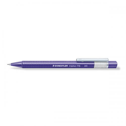 Portaminas Staedtler triplus 776 0,5 violeta
