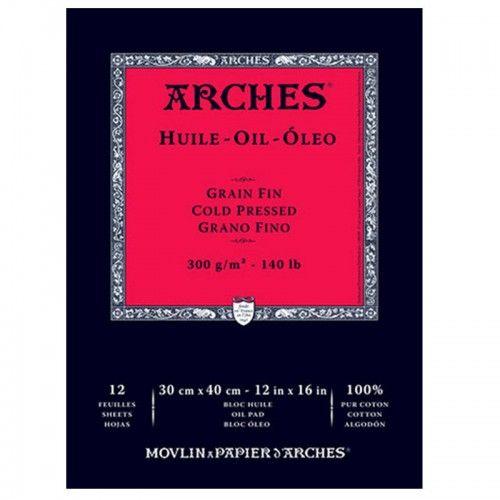 Block Arches para óleo 23 x 31cm 300 grs