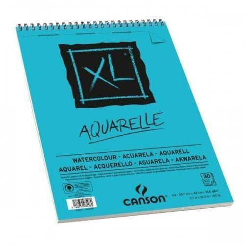 Block Canson Aquarelle XL espiral A3