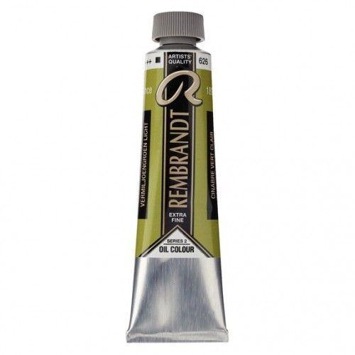 Oleo Rembrandt Verde Cinabrio Claro 40ml