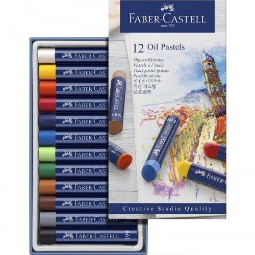 Estuche Pastel Graso Faber Castell 12 unidades