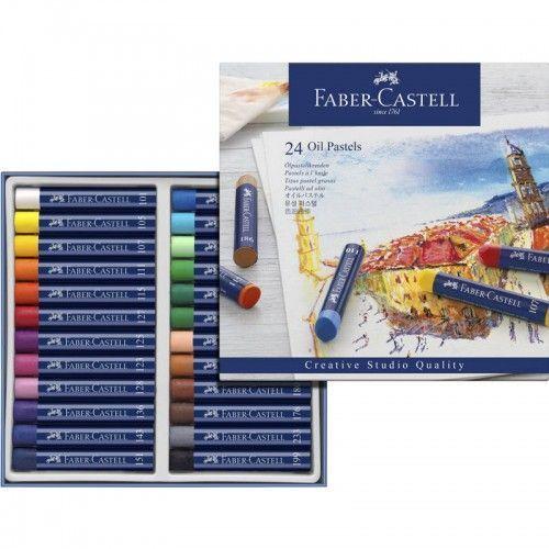 Estuche Pastel Graso Faber Castell 24 unidades