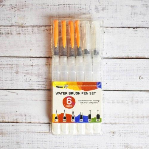 Set Waterbrush 6 unidades