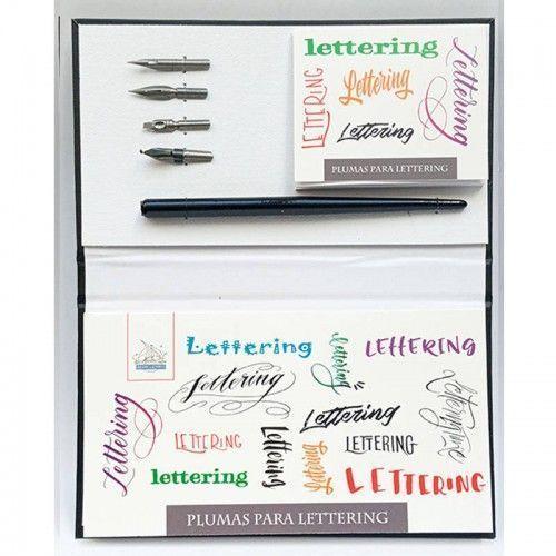 Plumas & Libretas Lettering