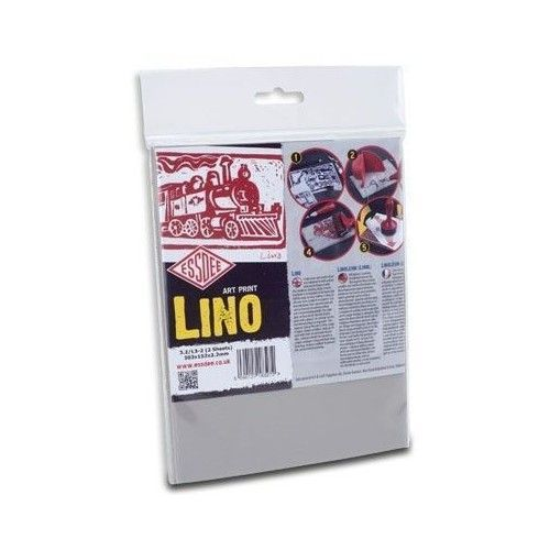 Plancha de linoleo 20 x 15 cm 3.2 mm