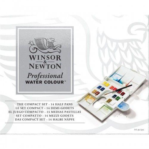 Acuarelas profesionales W&N 14 unidades