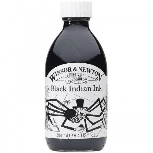 Tinta W&N Black Ink 250 ml