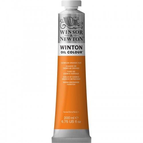 Oleo Winsor & Newton 200ml Naranja de Cadmio