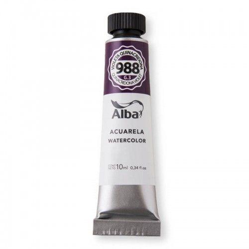 Acuarela Alba Violeta Quinacridona G3 10ml