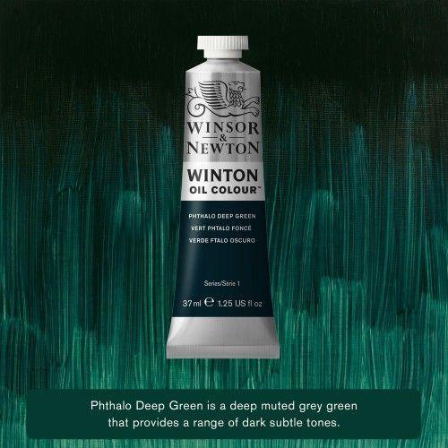 Oleo Winsor&Newton Verde Ftalo Oscuro 37ml