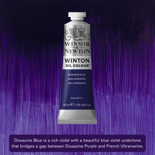 Oleo Winsor&Newton Azul Doixacina 37ml