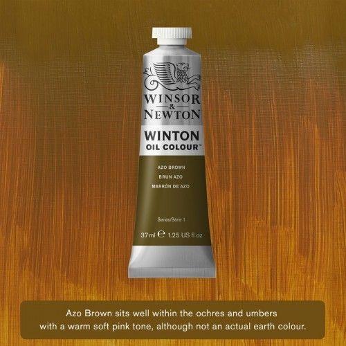 Oleo Winsor&Newton Marron Azo 37ml