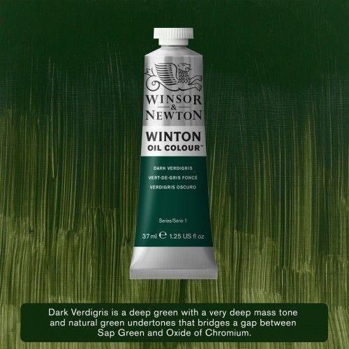 Oleo Winsor&Newton Verdigris Oscuro 37ml