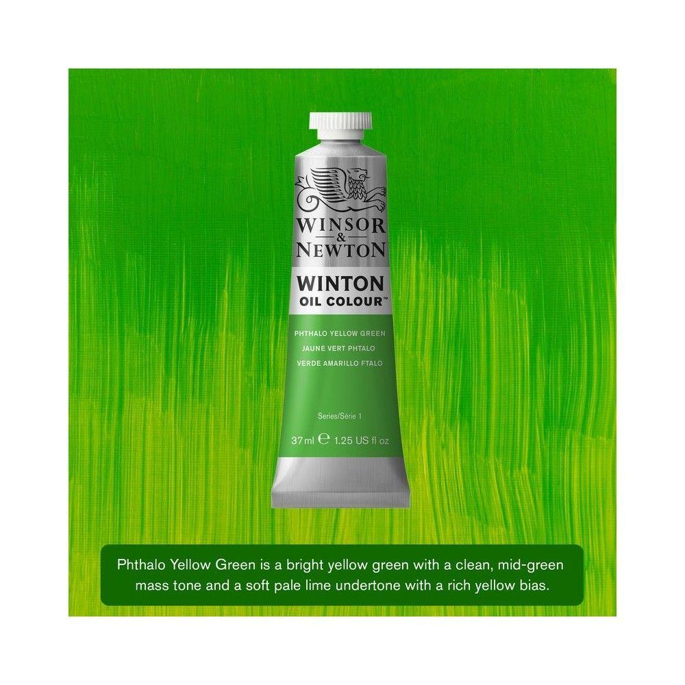 Oleo Winsor&Newton Verde Amarillo Ftalo 37ml