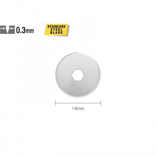Repuesto para Olfa Rotary 18mm