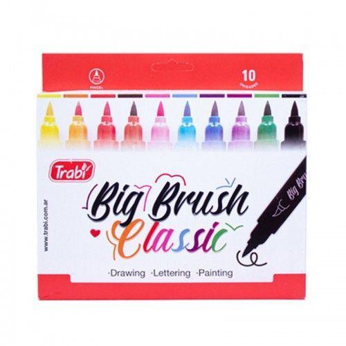 Marcador Big Brush Classic Trabi 10 unidades